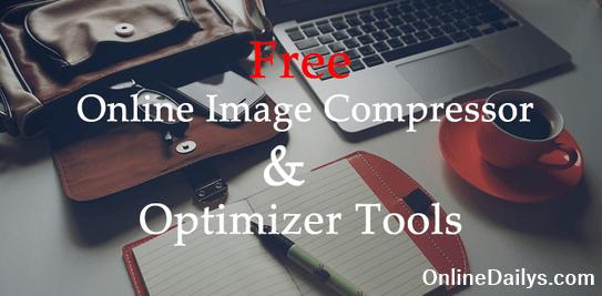 Free Online Image Optimizer Tool.