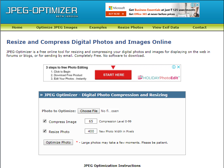 TOP 10 Best FREE Online Image Compression & Optimizer Tools.