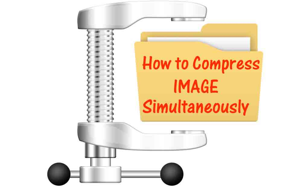 How to Compress Image Simultaneously In one Folder Using Microsoft Office  Picture Manager.