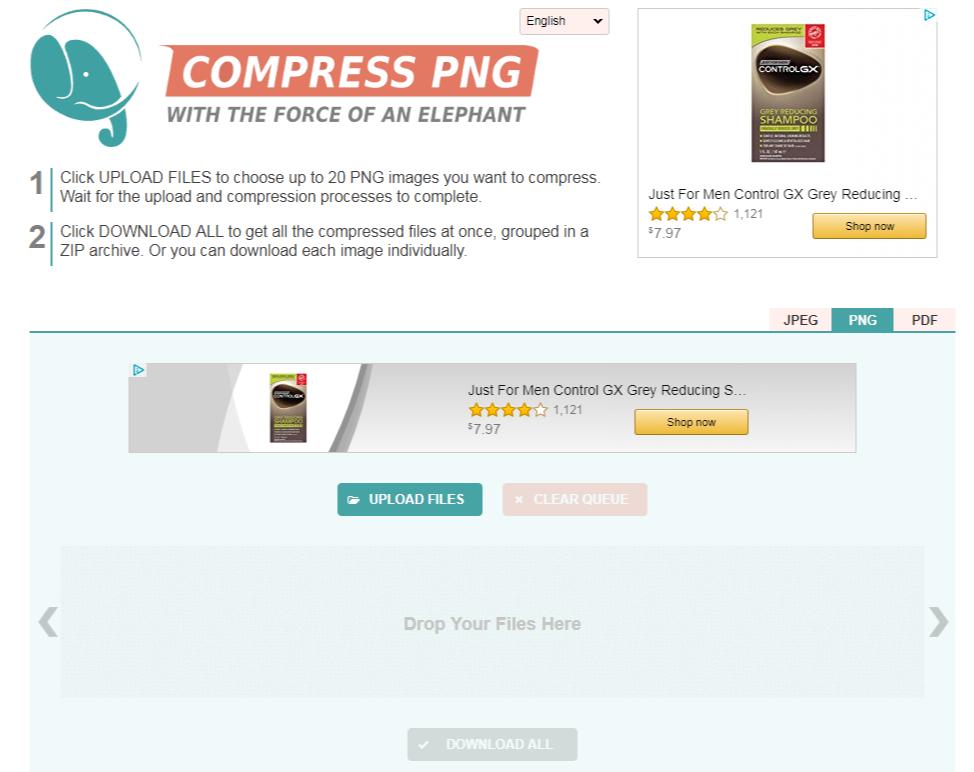 Optimize your Image File Sizes Free.
