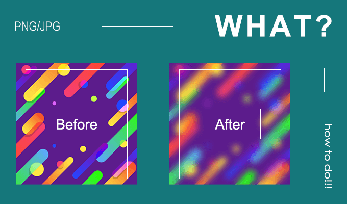 How to Reduce JPEG/PNG Image Size without Destroying Its Clarity in.