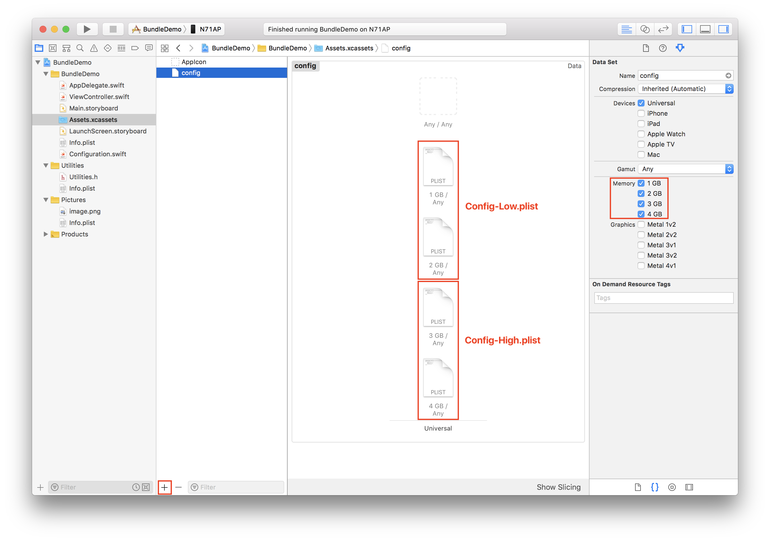 Unleashing the power of asset catalogs and bundles on iOS.