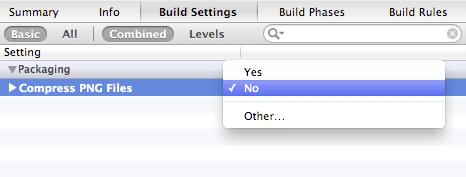 Configure Xcode for better image optimisation — ImageOptim.