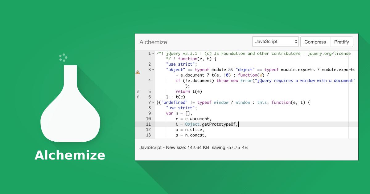 Alchemize App.