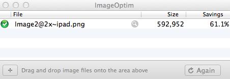 Compressing PNG Images.