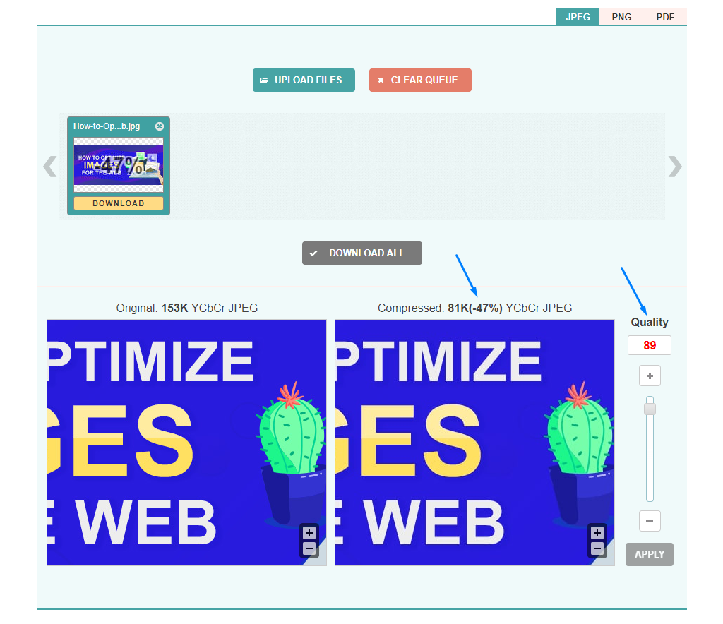 How To Optimize Images For Web And Without Losing Quality.