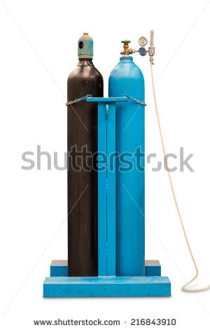 Acetylene Cylinder Stock Photos, Royalty.