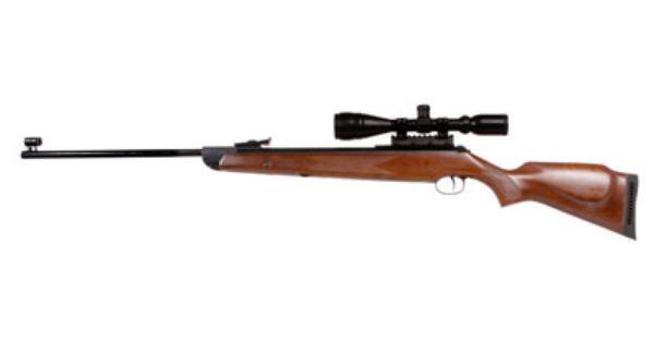 A good choice for a pellet gun: RWS Diana 350 Magnum 1250 fps.