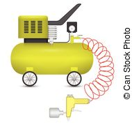 Air compressor Clip Art Vector and Illustration. 326 Air.