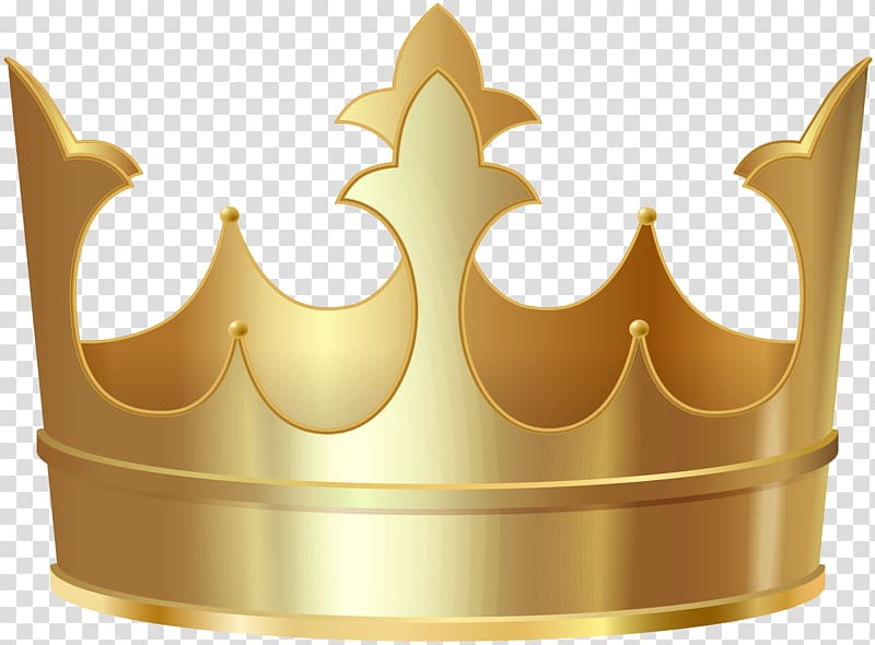 File formats Lossless compression, Gold Crown transparent background.