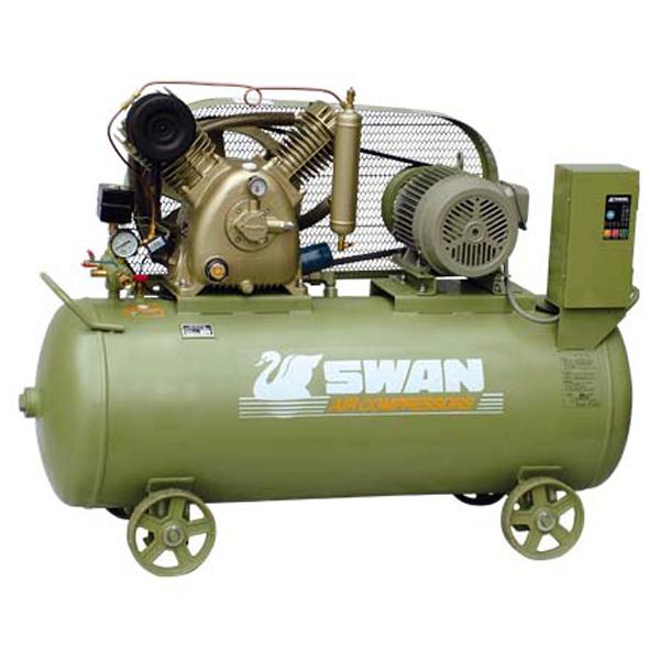 SWAN 5HP HEAVY DUTY AIR COMPRESSOR.