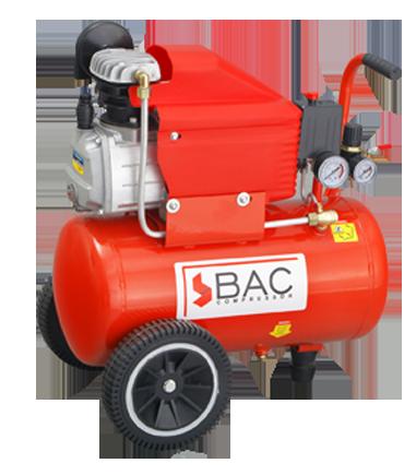 Portable air compressor.