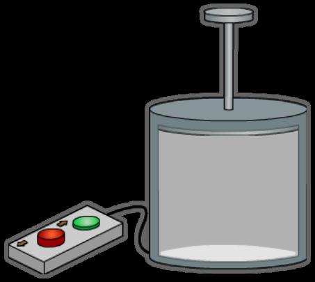 Los gases se pueden comprimir.
