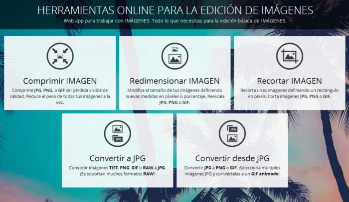 5 Herramientas para la edición básica de imágenes on.