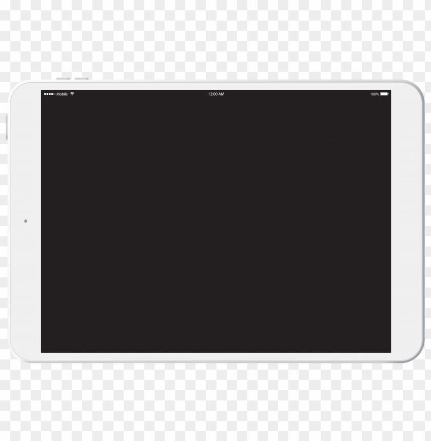Download white tablet clipart png photo.