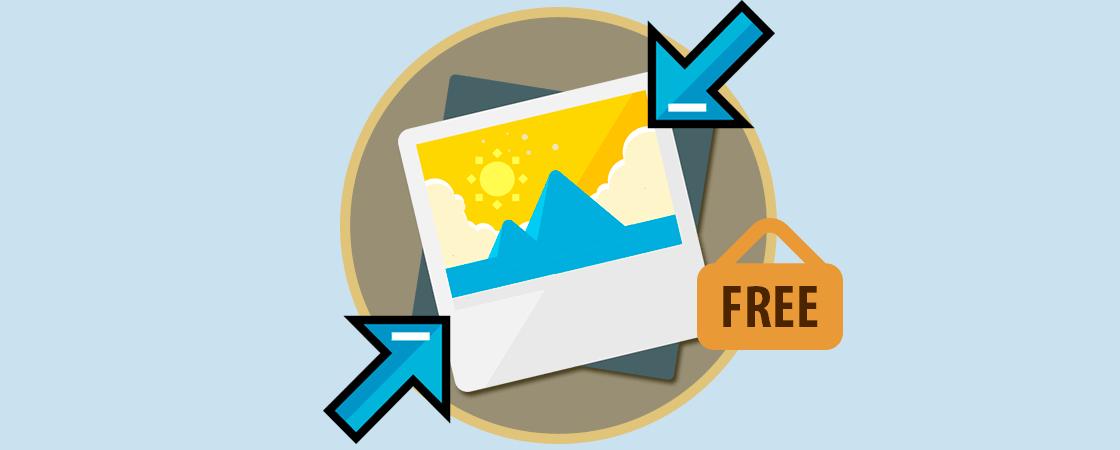 Comprimir imágenes gratis sin perder calidad.