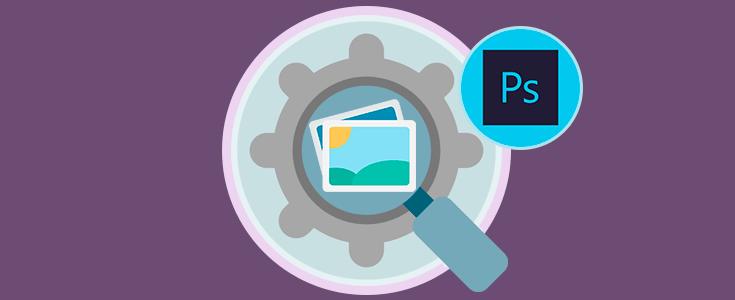 Cómo optimizar comprimir imagen en Adobe Photoshop.