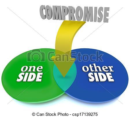 Clip Art Compromise Clipart.