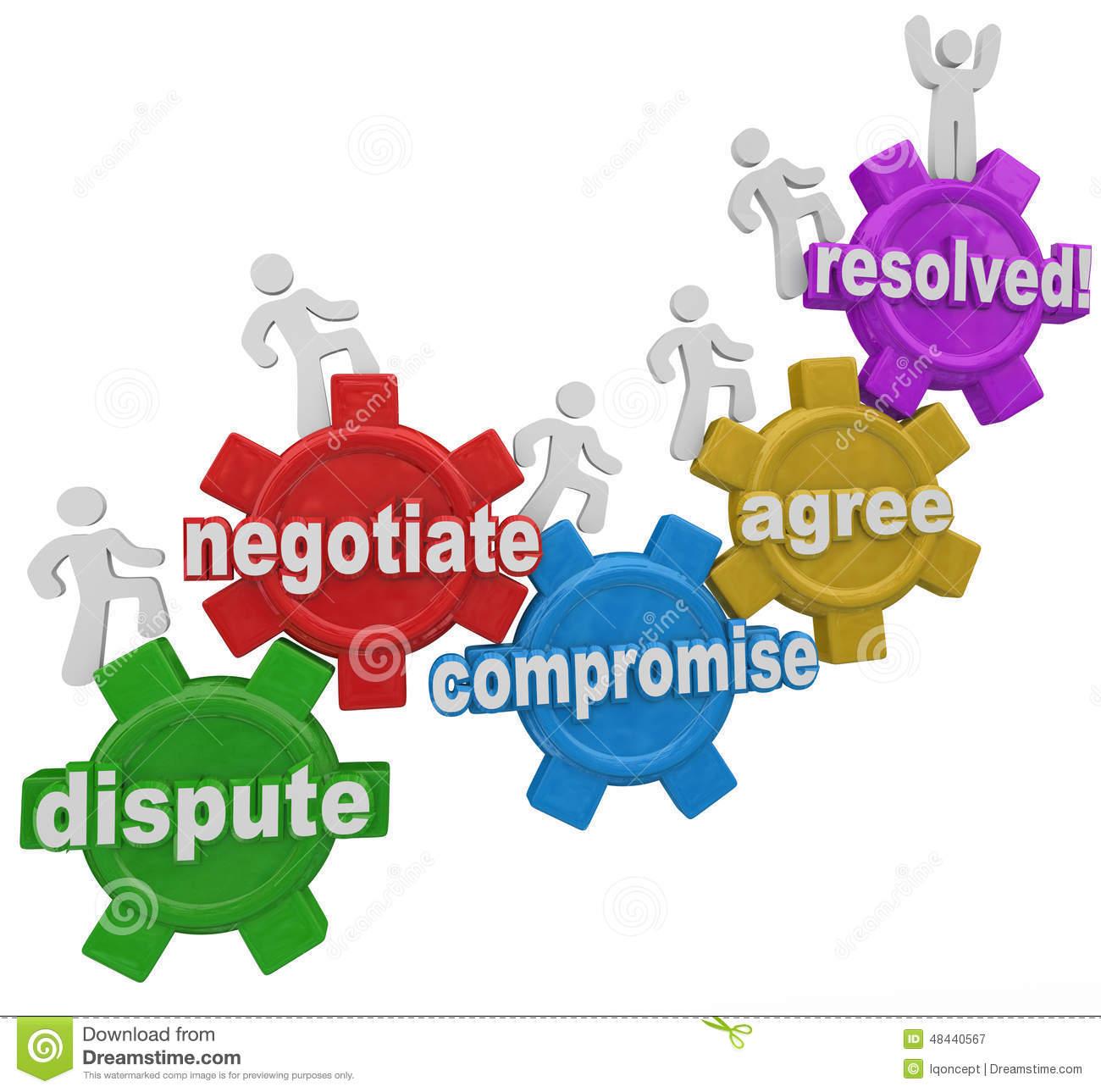 Compromise Dispute Negotiation.