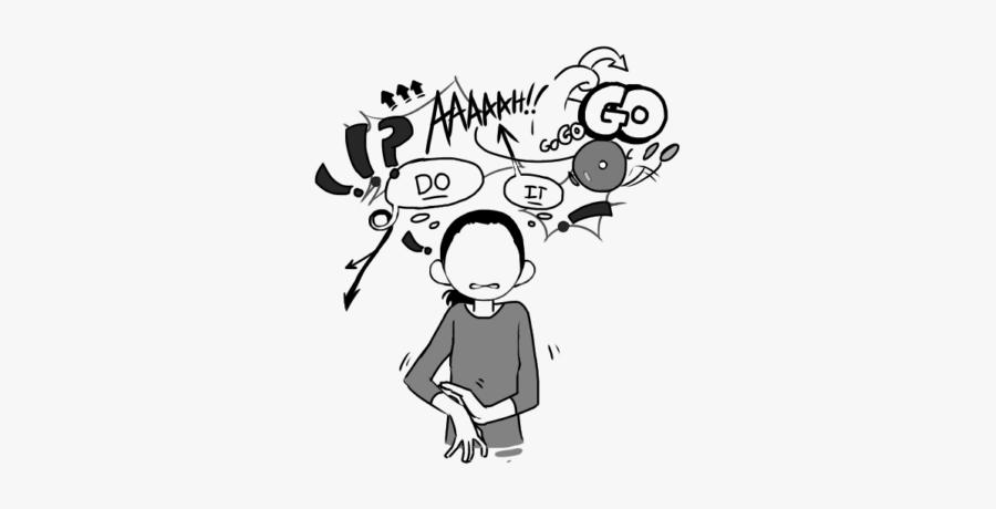 Cartoon Obsessive Compulsive Disorder , Free Transparent.