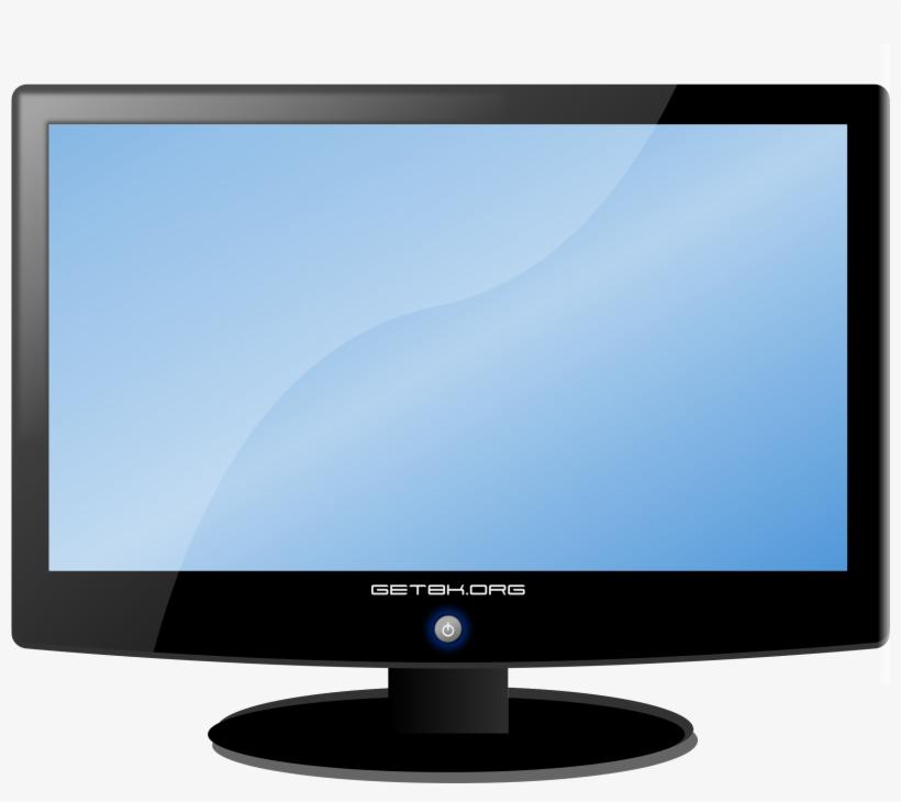 Screen Clipart Tv Icon.