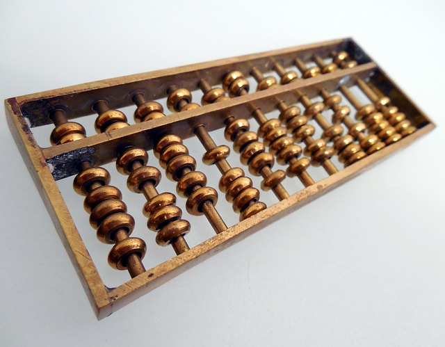 Free photo Mathematics Wooden Balls Computational Aids Abacus.