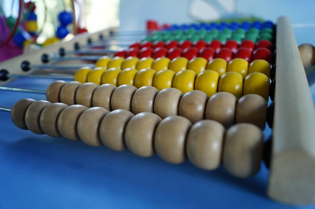 Free photo Count Abacus Wooden Balls Computational Aids.