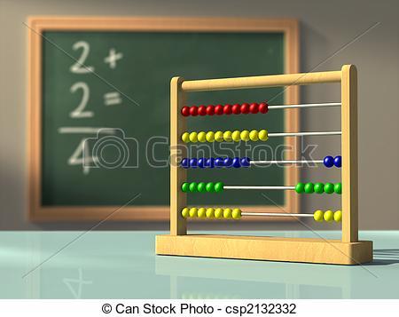 Clip Art of Simple mathematics.