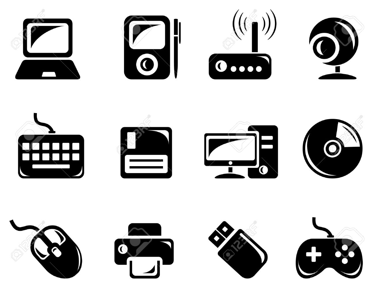 Computer Accessories Clipart Clipground