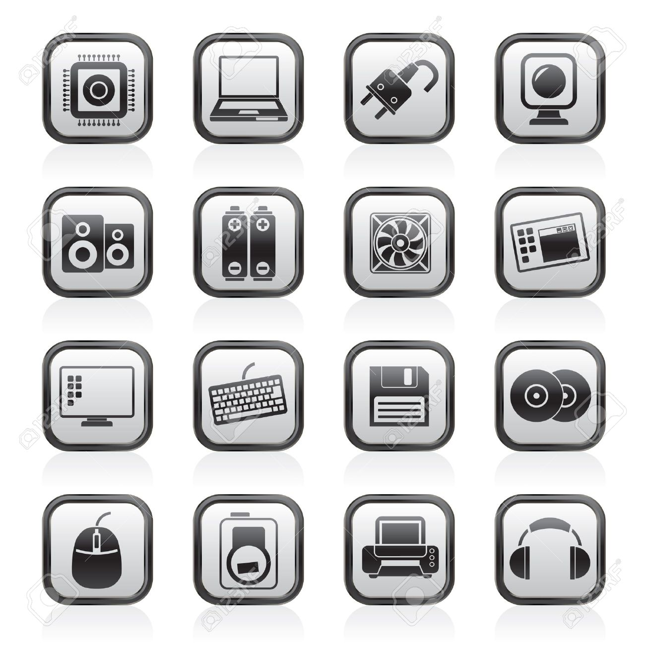 Computer accessories clipart free.