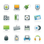 Computer Accessories Clip Art.