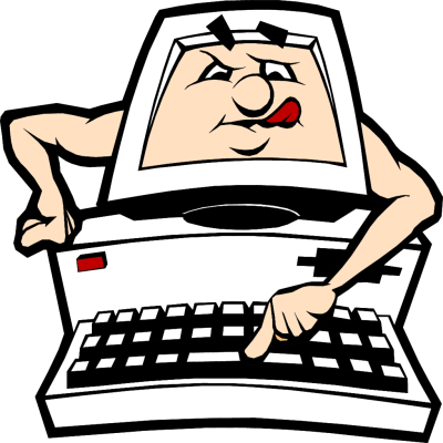 Animated Computer Clip Art.