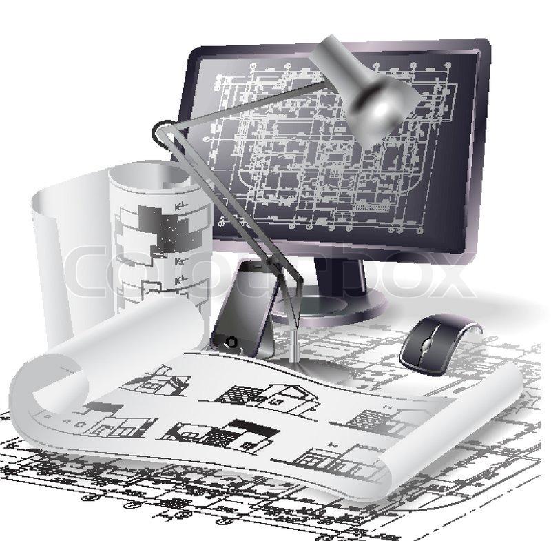 Computer Architecture Clipart