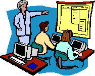 Computer Assisted Instruction Clipart.