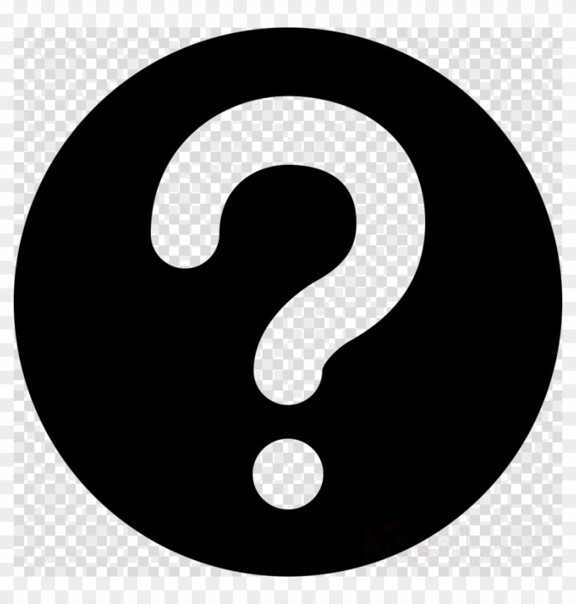 Question Mark Transparent Button Clipart Computer Icons.
