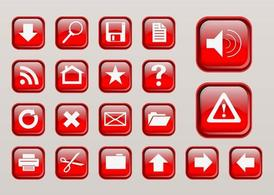 Computer Interface Buttons Clipart Picture Free Download.