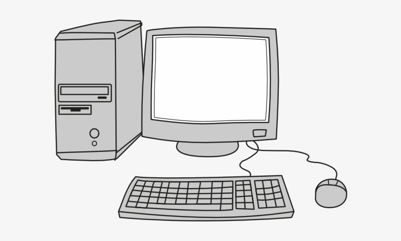 Computer Screen Cartoon Transparent PNG.