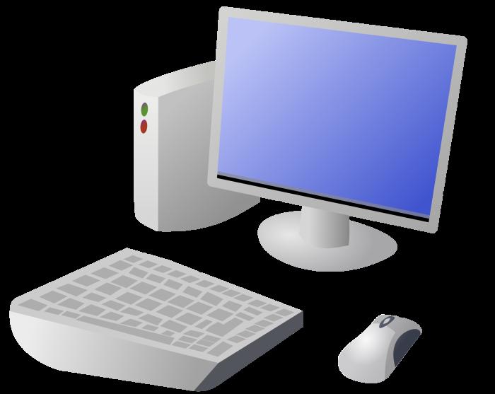 Computer Cartoon Png Vector, Clipart, PSD.