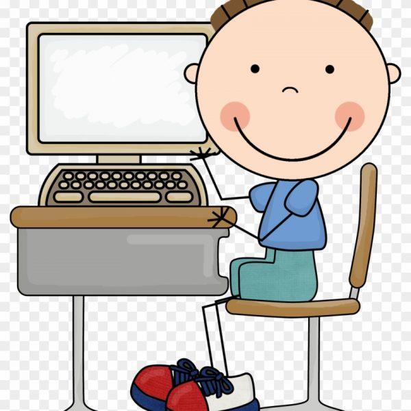Computer Class Clipart For Kids.