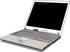 Computer notebook clip art at clker vector clip art.