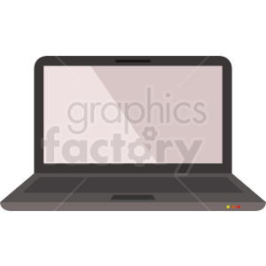 laptop computer vector clipart. Royalty.