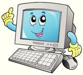 Cartoon computer Clipart Illustrations. 41,360 cartoon computer.
