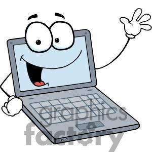 computer clipart cartoon #17