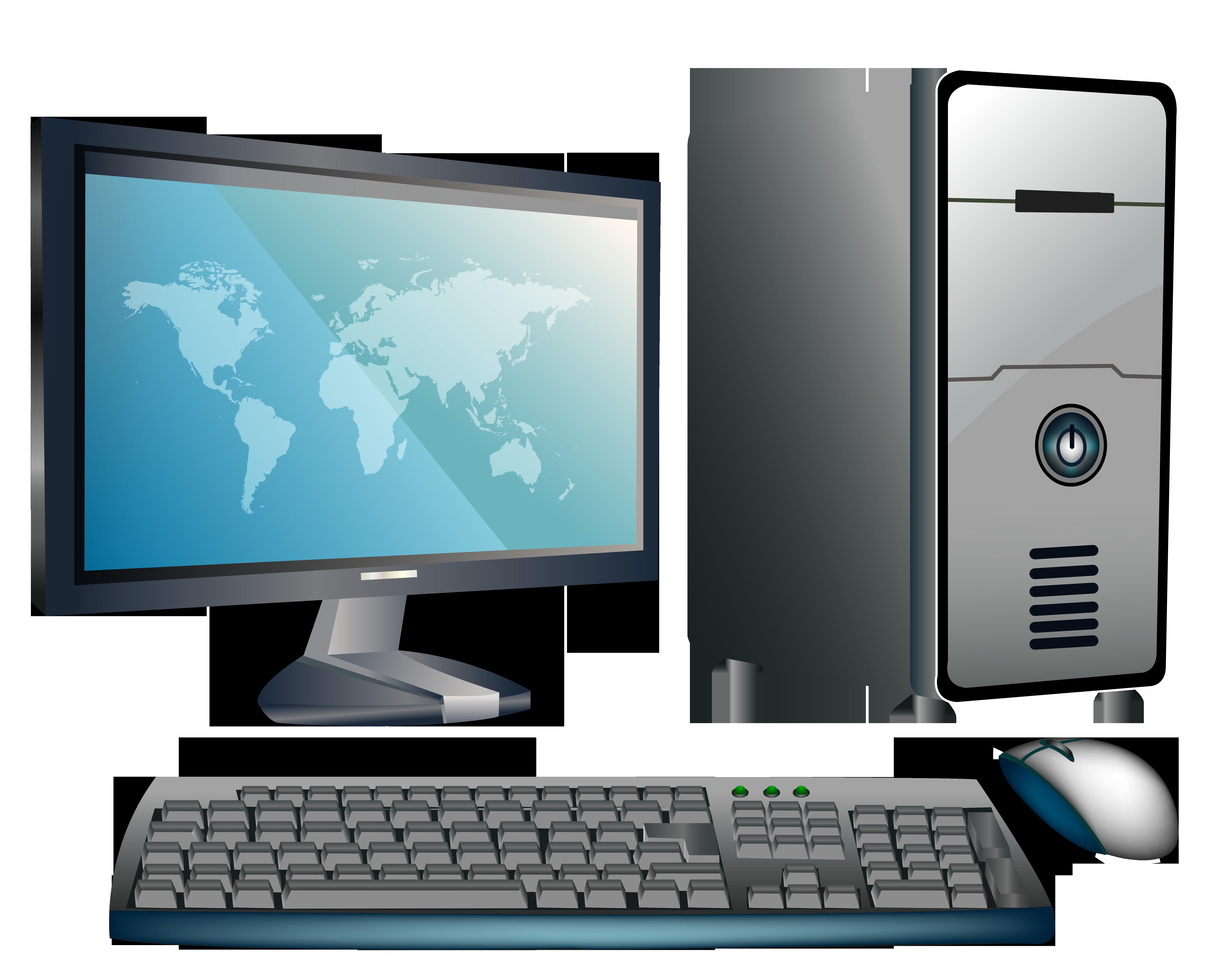 Desktop Computer PNG Clipart.