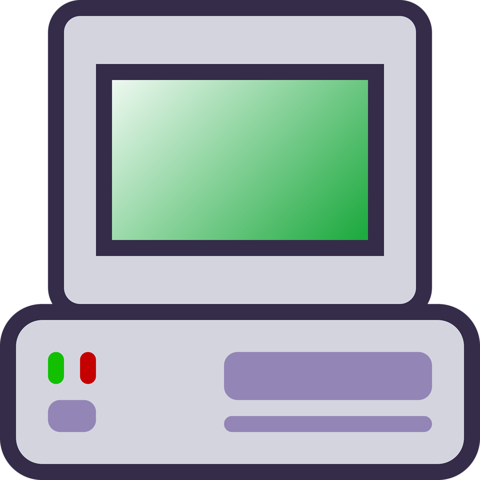 Computer clipart transparent background clipartsgram.