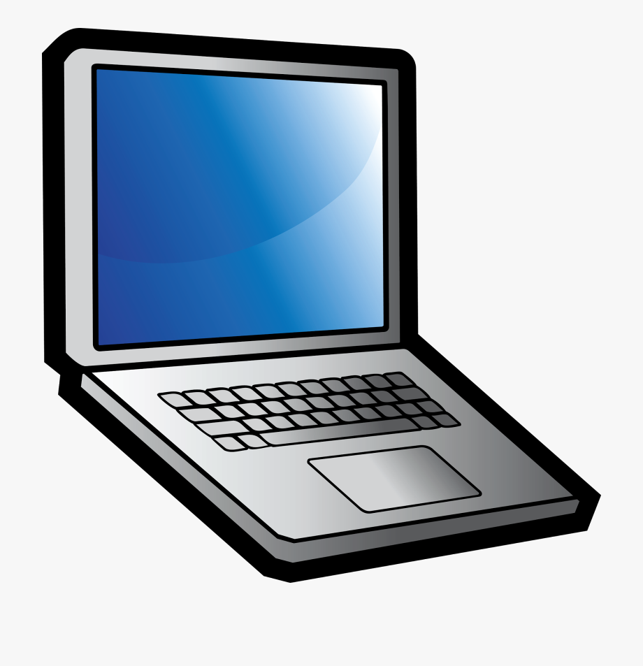 Computer Clipart Cartoon.