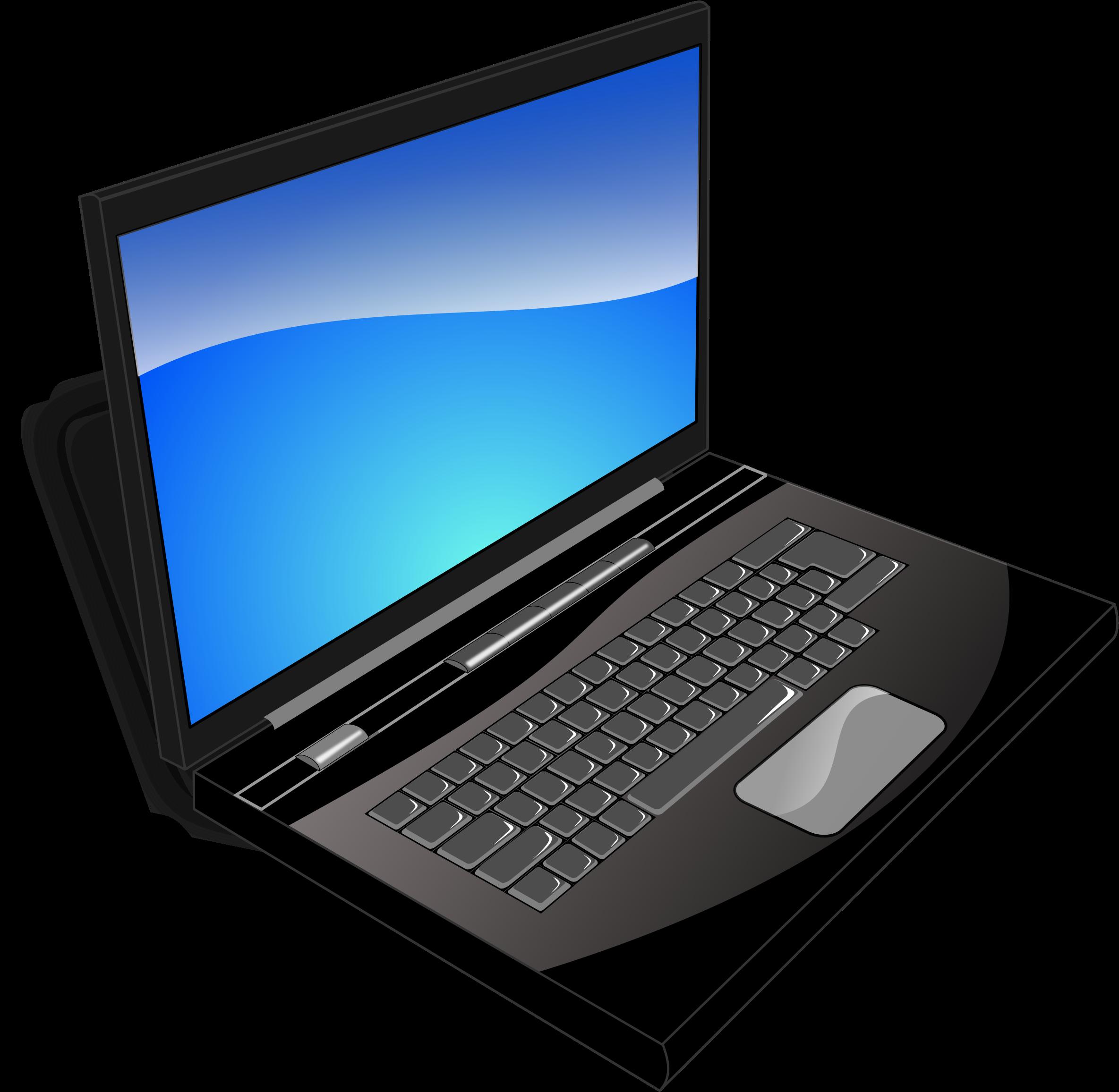 Computer Clipart Transparent Background.