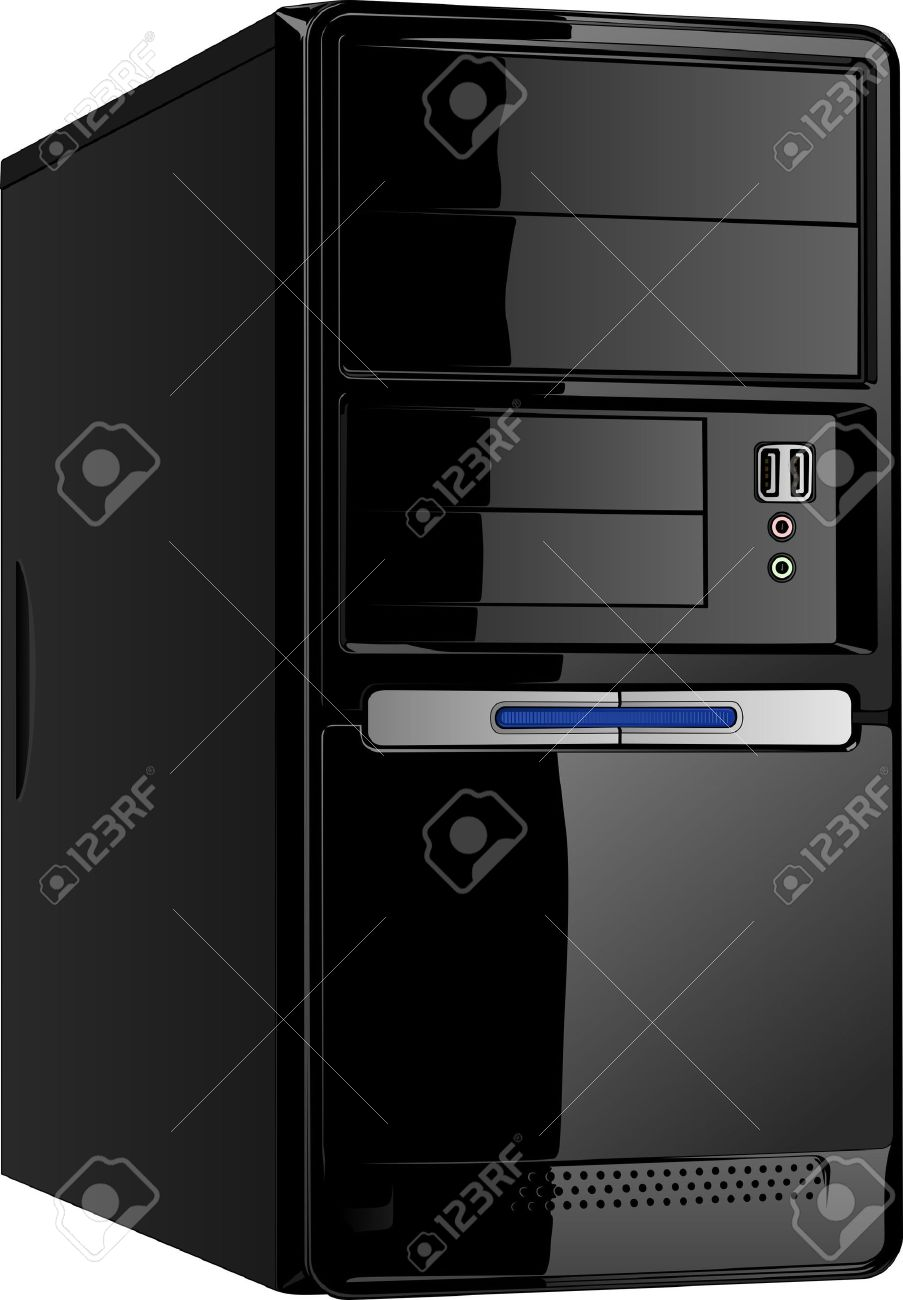 Computer cpu clipart 4 » Clipart Station.