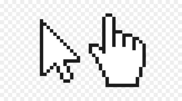 Computer mouse Pointer Cursor Pixel.