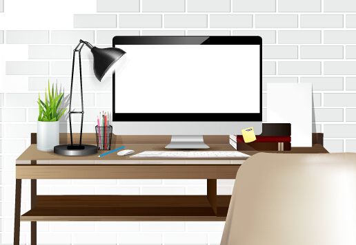 Free computer desk clipart free vector download (6,407 Free vector.